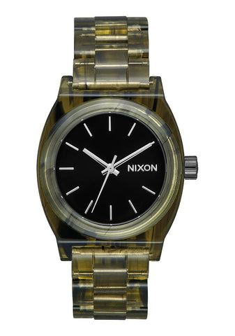 Nixon Medium Time Teller Acetate Olive