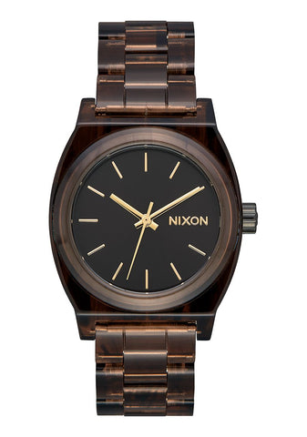 Nixon Medium Time Teller Acetate Brown
