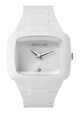 Nixon Rubber Player All White