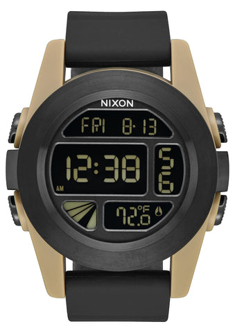 Nixon Unit All Black/Sand