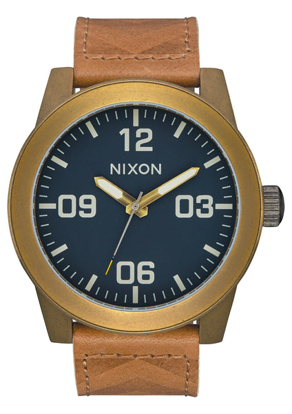 Nixon Corporal Brass/Navy/Hickory