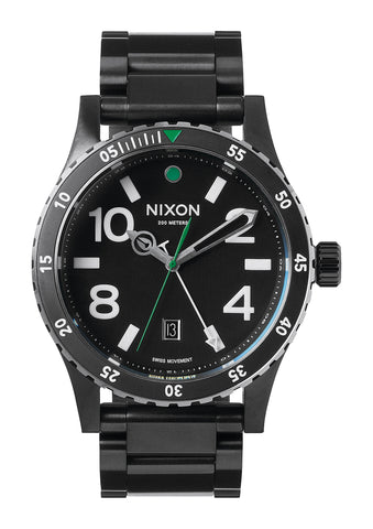 The Diplomat SS Black/Silver/Green