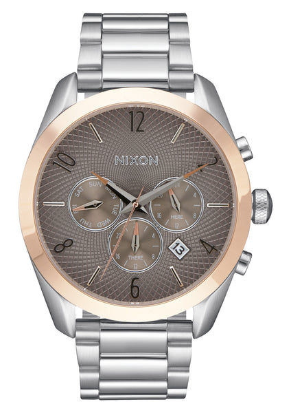 The Bullet Chrono Silver/Rose Gold/Taupe