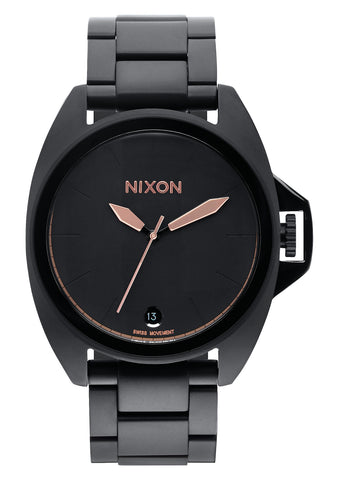 Nixon Anthem All Black / Rose Gold - 70% Off