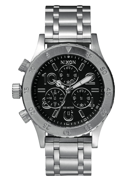 Nixon 38-20 Chrono Black
