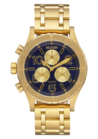 Nixon 38-20 Chrono All Gold/Navy