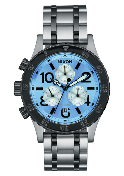 The 38-20 Chrono Silver/Sky/Gunmetal