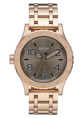Nixon 38-20 Rose Gold/Taupe