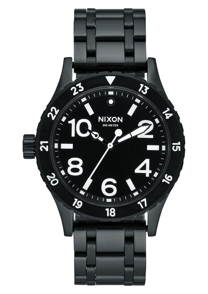 Nixon 38-20 All Black/White