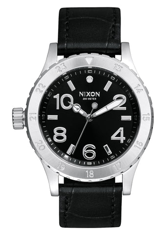 Nixon 38-20 Leather Black/Gator