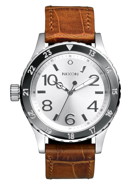 Nixon 38-20 Leather Saddle/Gator