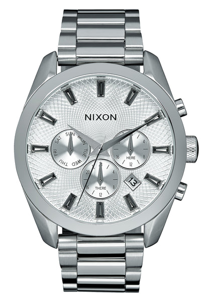 The Bullet Chrono Crystal All Silver