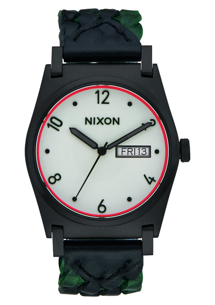 Nixon Jane Leather Black/Forest