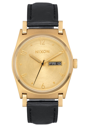 Nixon Jane Leather Gold/Gold/Black