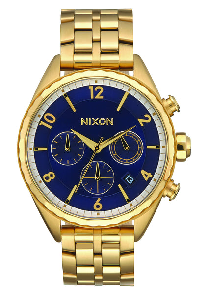 The Minx Chrono All Gold/Navy