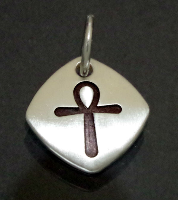 Sterling silver pendant with Ank Cross
