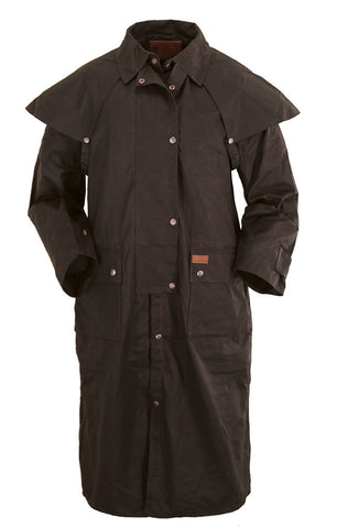 Low Rider Duster Mens Oilskin Coat