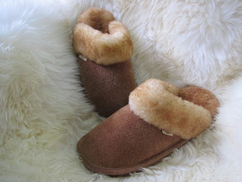 Ladies Scuff Sheepskin Slipper