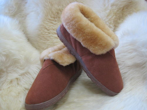 Men's Sheepskin Bootie Slipper RJ's 202