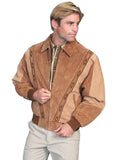 Two-Toned Boar Suede Rodeo Jacket