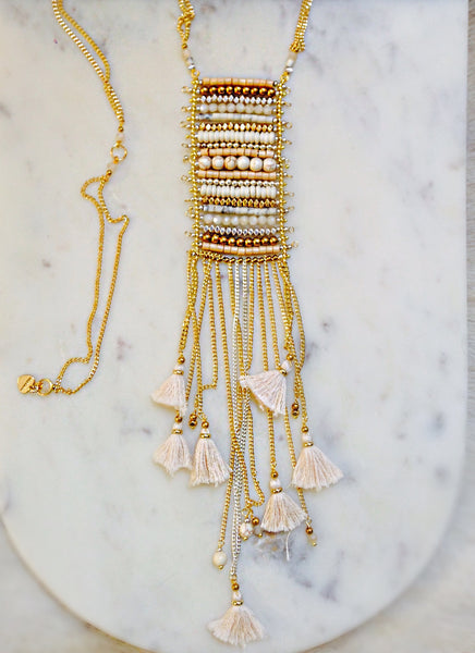Trendy Tassel Necklace