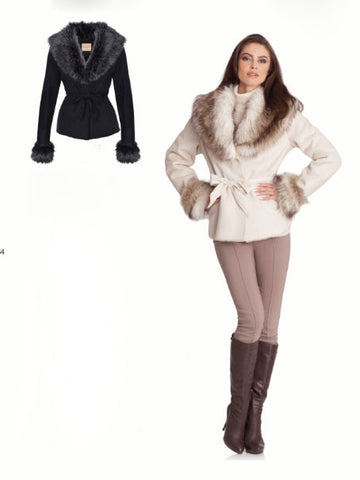 Upcountry Faux Fur Jacket