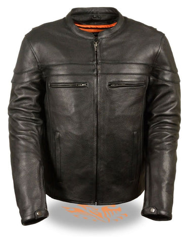 Men's Vented Scooter Jacket: Performance Apparel