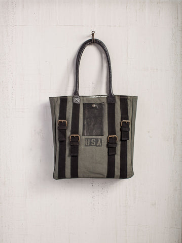 Strapped Canvas Toto Bag