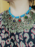 Balochistan Pendant Necklace Vintage Tribal Adornment (#6560)
