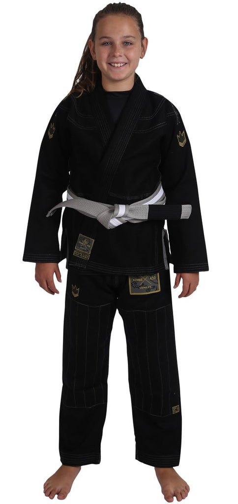 Kids Comp V5 Jiu Jitsu Gi - Black