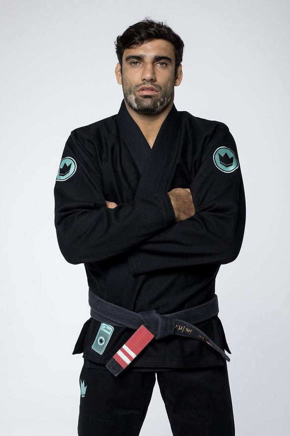 Classic 3.0 Jiu Jitsu Gi - Black - Full Front Arms Crossed