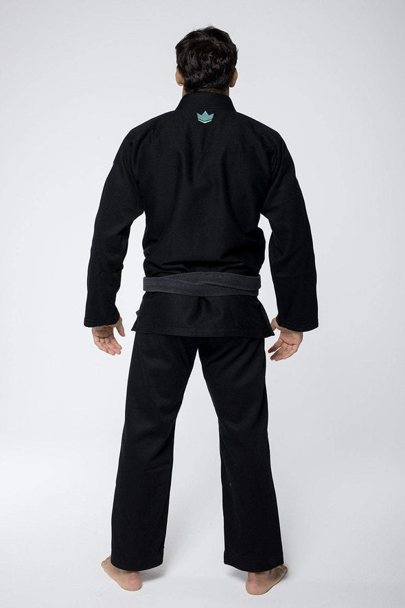 Classic 3.0 Jiu Jitsu Gi - Black -Full Back View