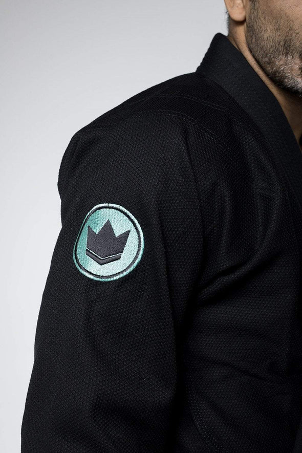 Classic 3.0 Jiu Jitsu Gi - Black -Sleeve Patch