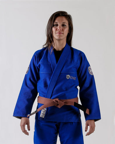 Balistico 2.0 Women's Jiu Jitsu Gi - Blue - Forward Facing