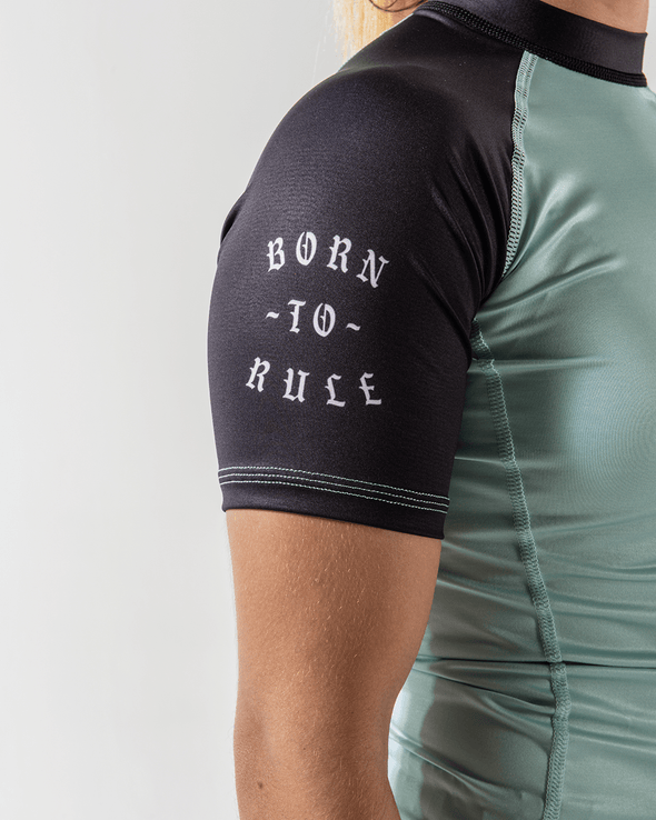 Kingz Born To Rule Women's S/S Rashguard