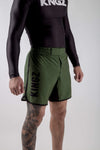 Kingz Army Shorts Diagonal Front View