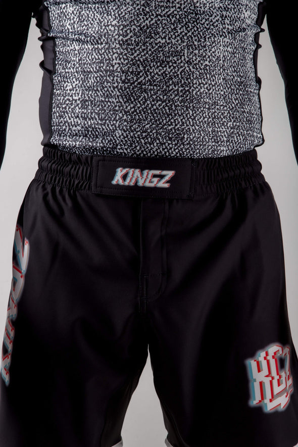 Kingz Static Shorts Front View