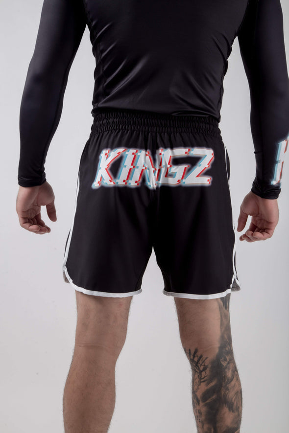 Kingz Static Shorts Back View