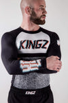 Kingz Static Rashguard arms crossed