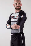 Kingz Static Rashguard leftwards facing