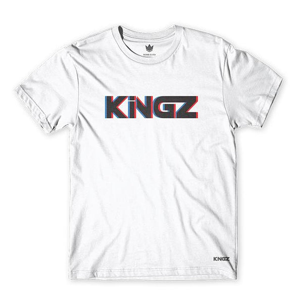 Kingz 3D Logo Tee- Front View