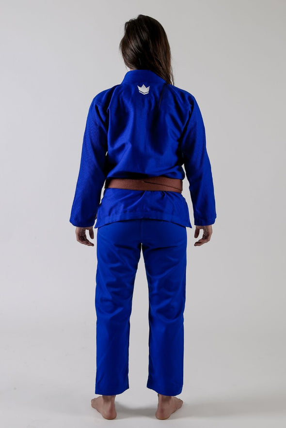 The ONE Womens Jiu Jitsu Gi - Blue - FREE White Belt