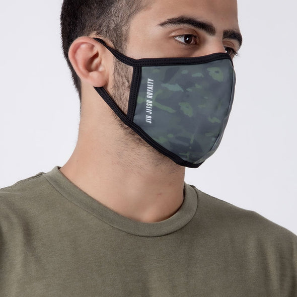 Crown Camo - Unisex Face Mask