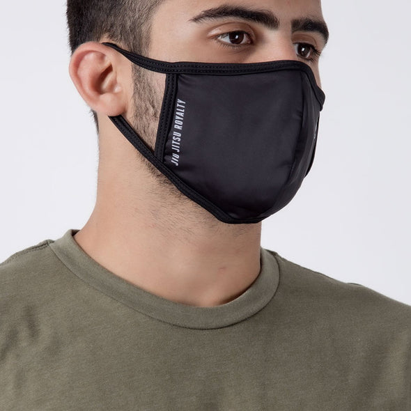 Crown Black - Unisex Face Mask