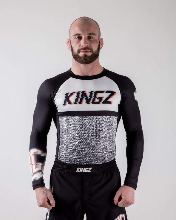 Kingz Static Rashguard Forward Facing