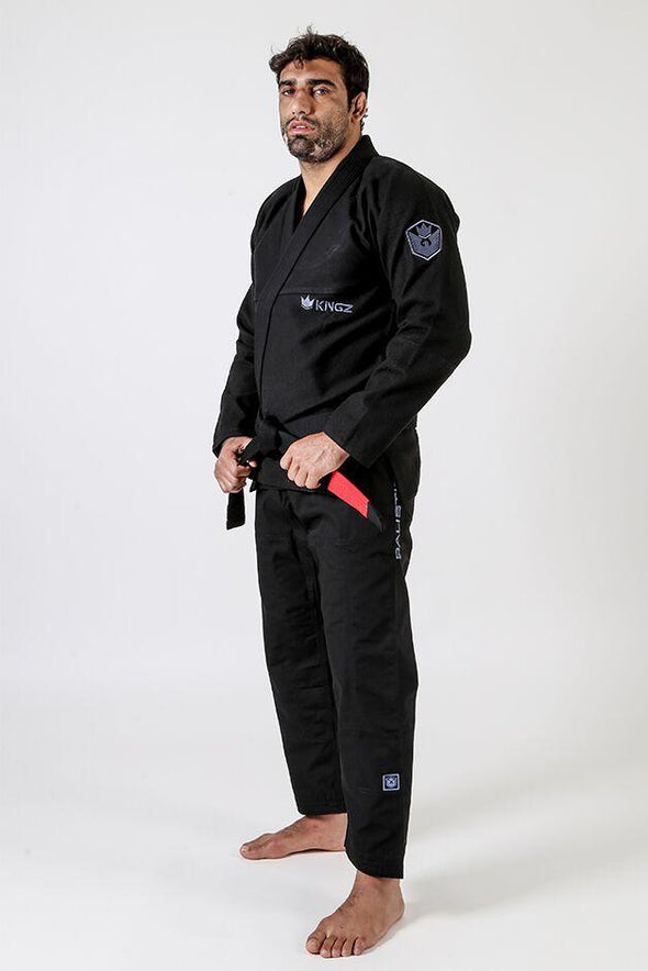 Balistico 3.0 Jiu Jitsu Gi - Black - Full Left Facing