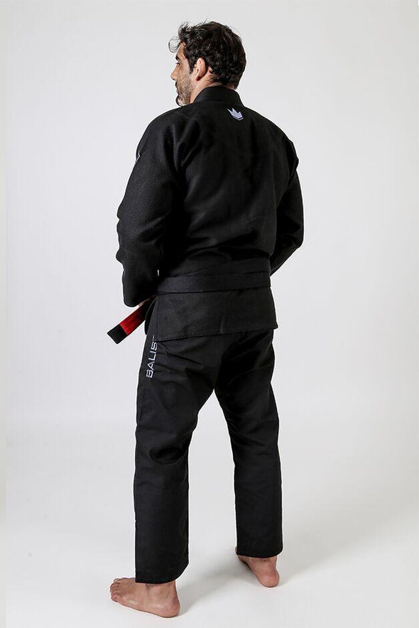 Balistico 3.0 Jiu Jitsu Gi - Black - Left Facing