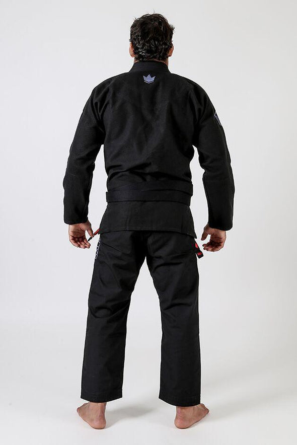 Balistico 3.0 Jiu Jitsu Gi - Black - Back View
