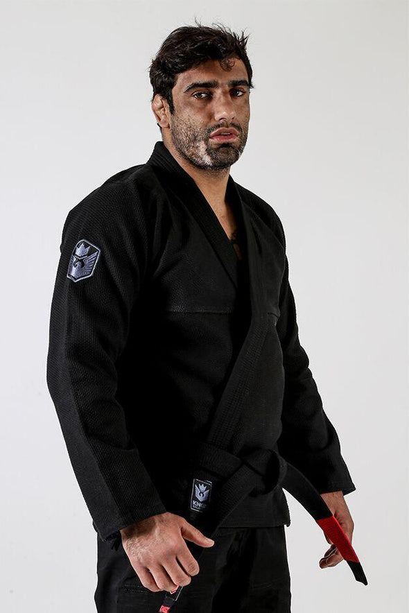 Balistico 3.0 Jiu Jitsu Gi - Black - Right Facing View