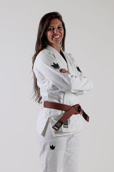 The ONE Womens Jiu Jitsu Gi - White - FREE White Belt